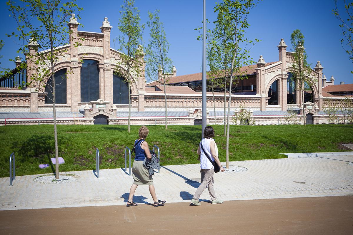 Matadero Madrid centro de creacion contemporánea