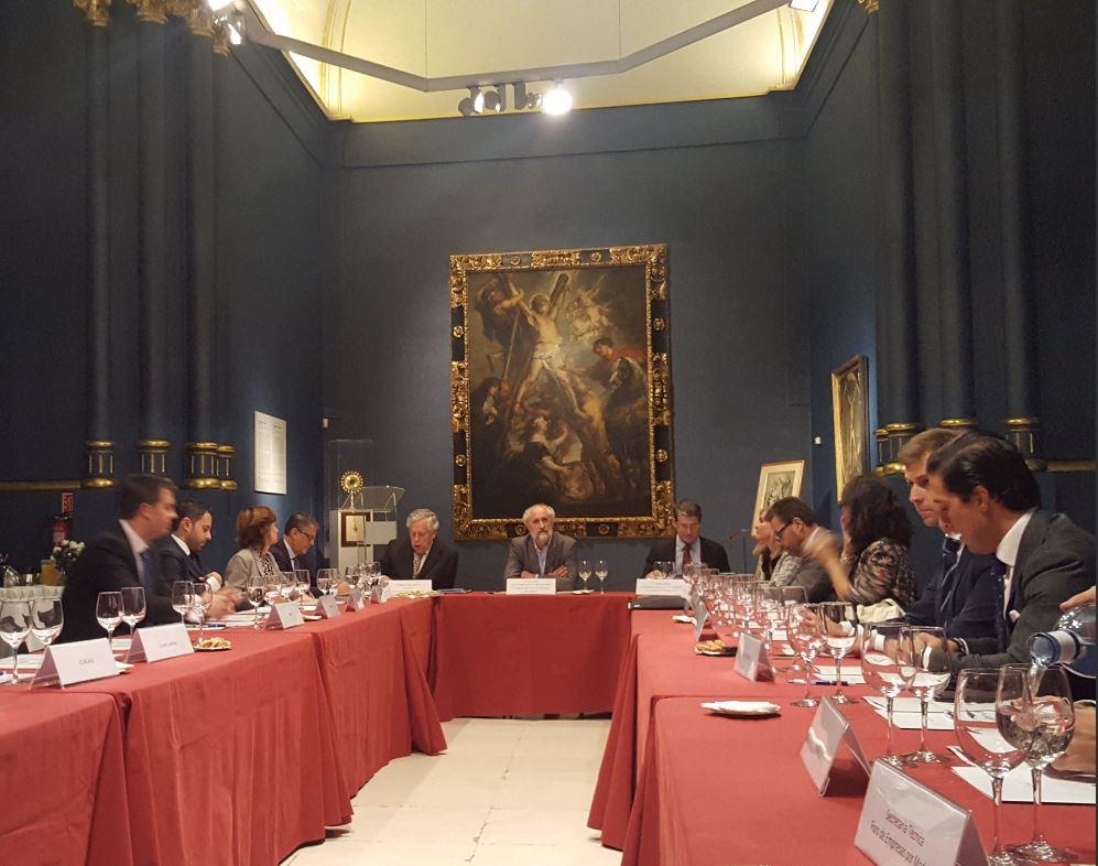 Reunión del Foro de Empresas por Madrid en la Fundación Carlos de Amberes