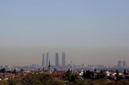 Polución Madrid