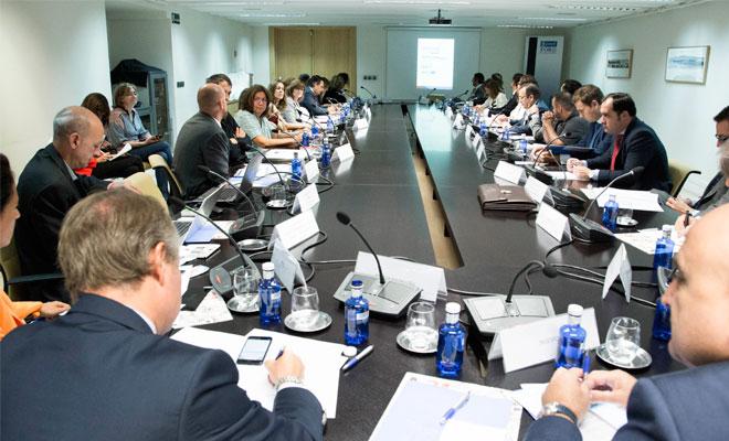 Reunión del Foro de Empresas por Madrid 12 de septiembre