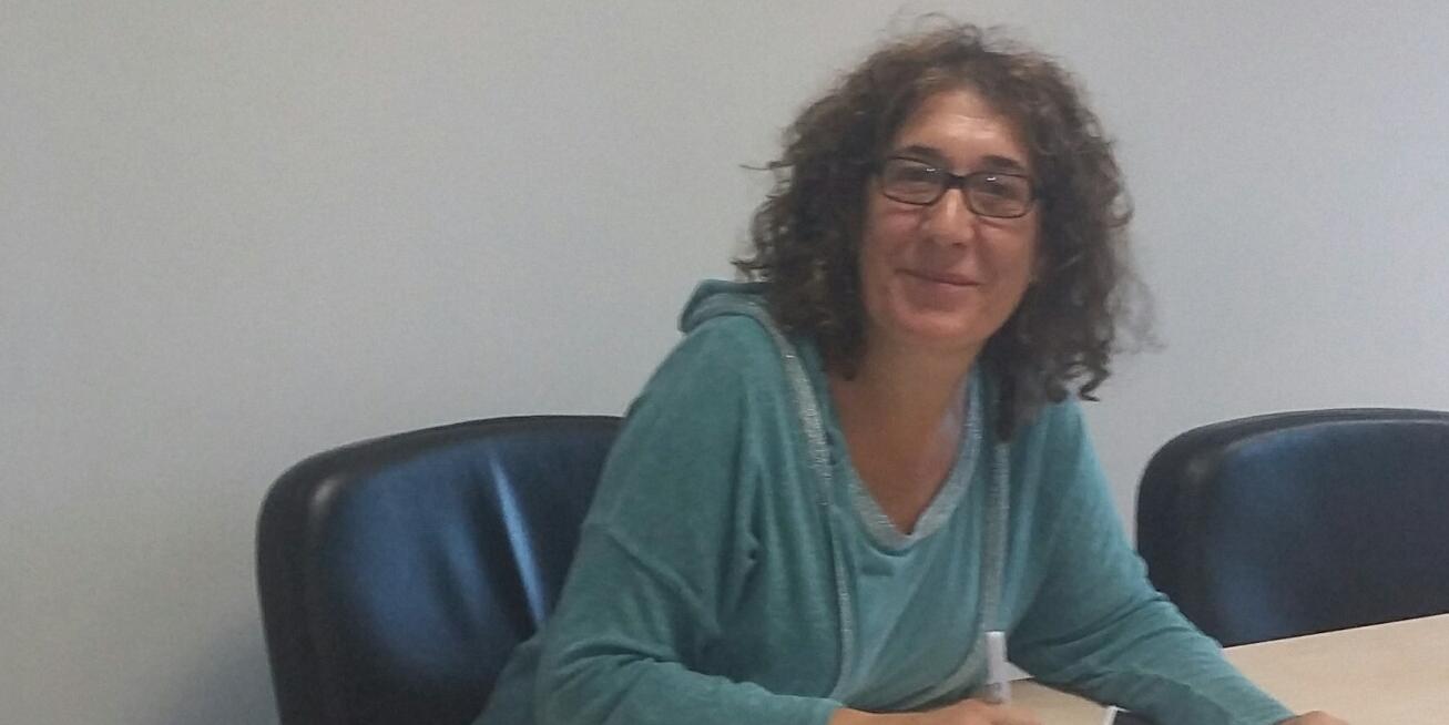 Berta Cao, coordinadora del programa Madrid te Acompaña