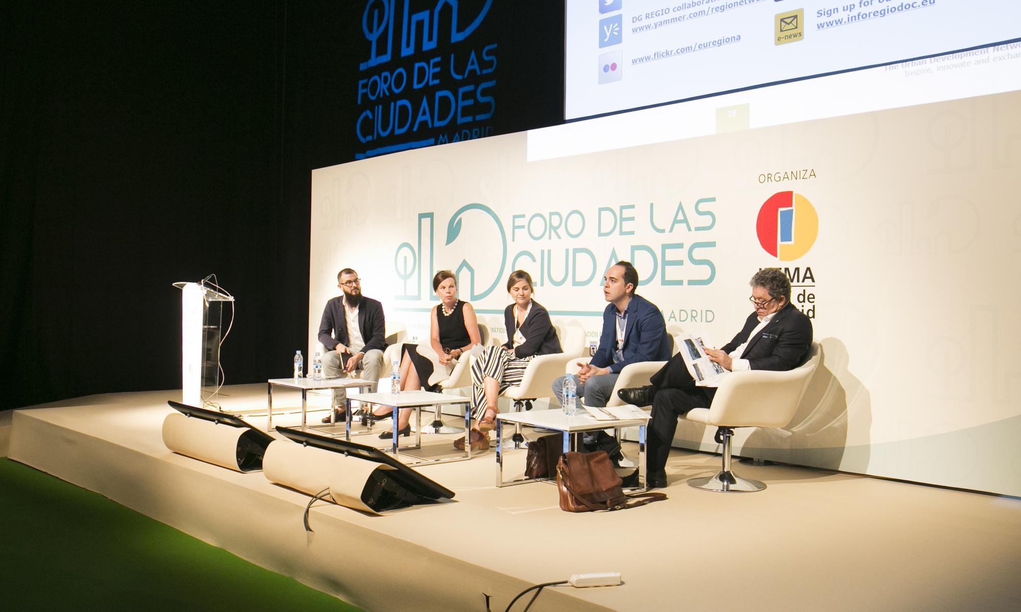 Imagen del Foro de las Ciudades de Madrid 2018 celebrado en Ifema