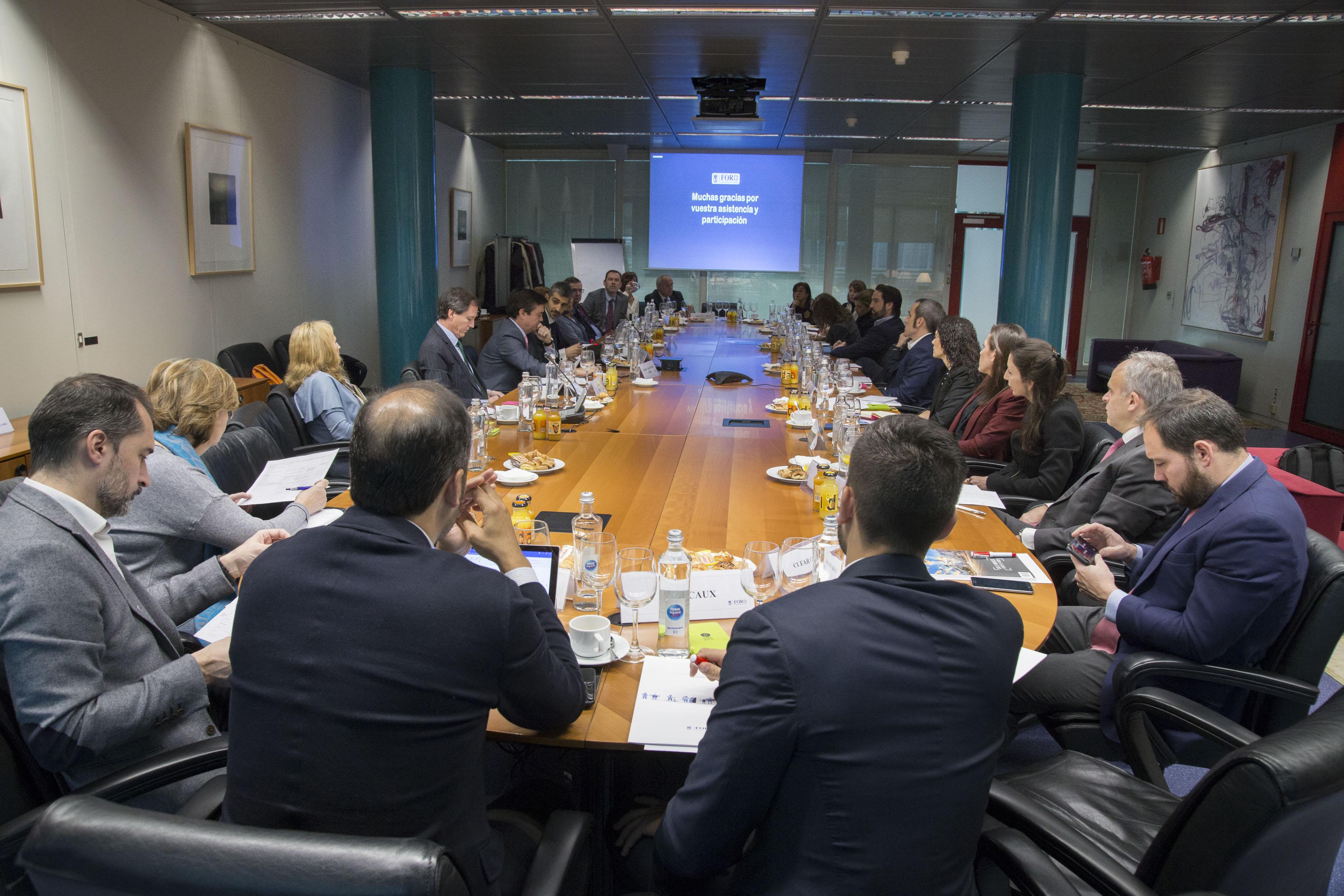 Reunión de las empresas del Foro en la sede de Ifema el 18 de noviembre