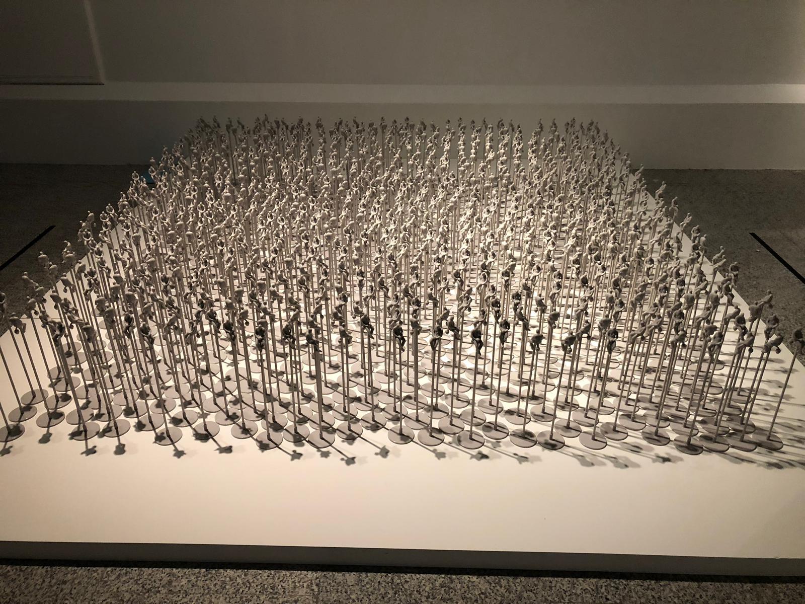 Obra de Fernando Sñanchez en la expo La No Cimunidad