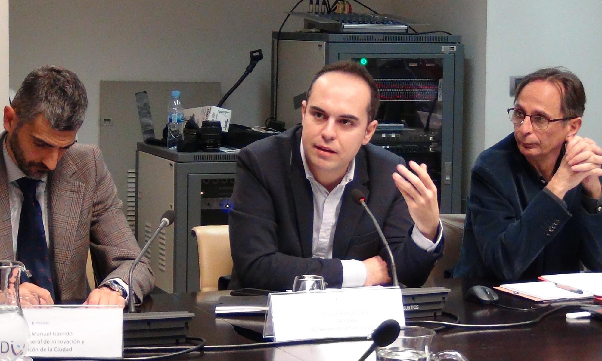 Reunión del Foro con José Manuel Calvo, concejal de Desarrollo Urbano Sostenible del Ayuntamiento de Madrid