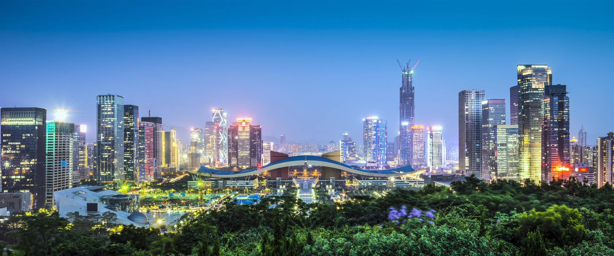 región china de Shenzhen