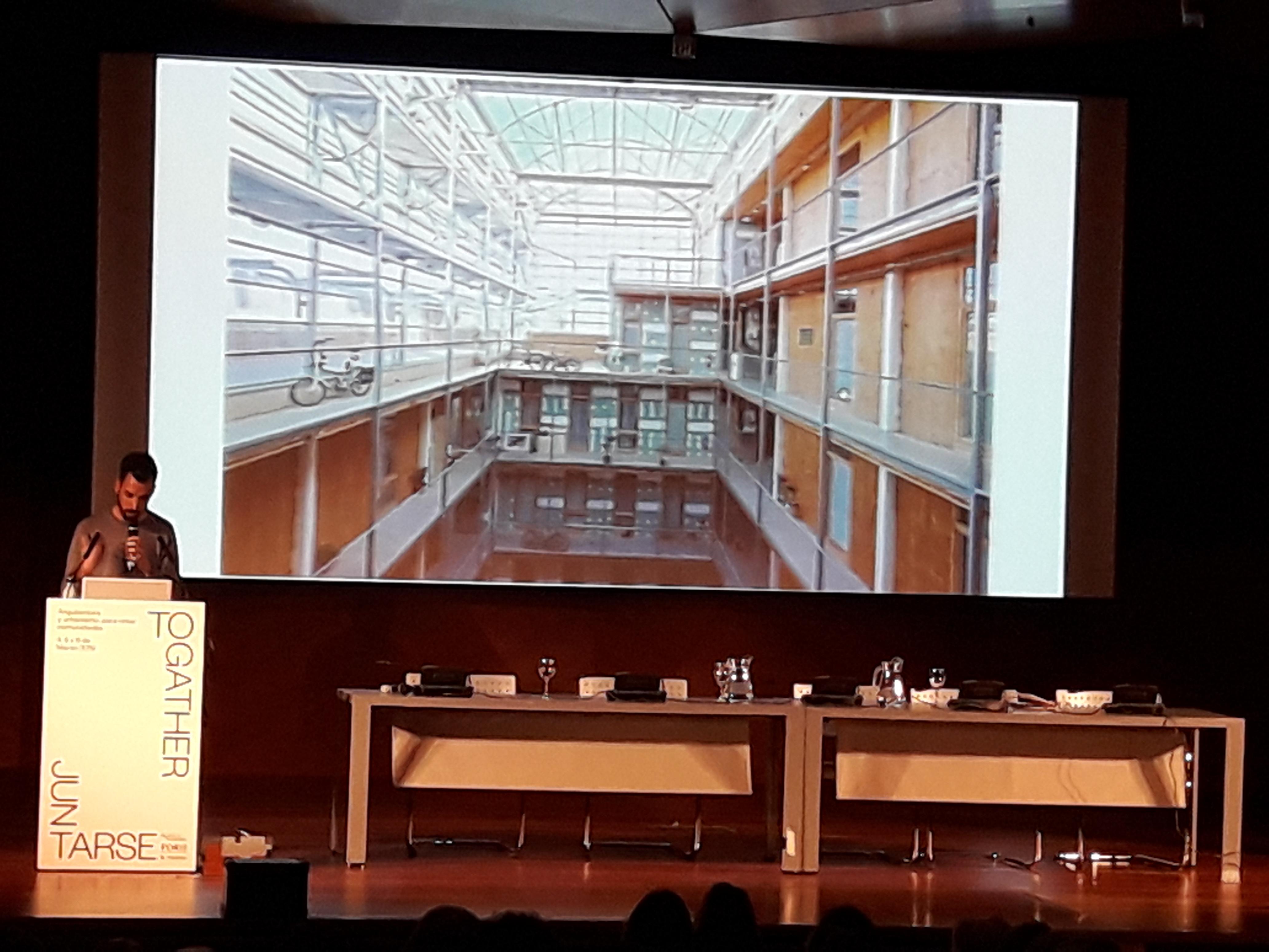 Imagen del Seminario Internacional de Arquitectura, Urbanismo y Soledades celebrado en Madrid