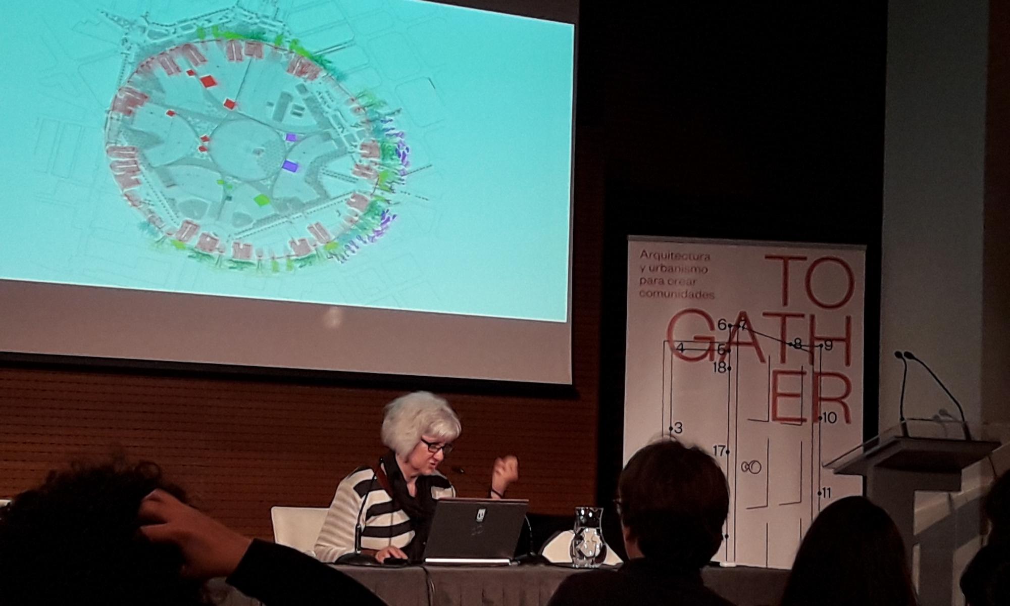Imagen del seminario 'Juntarse' celebrado en Madrid los días 4,5 y 6 de marzo sobre urbanismo y soledades