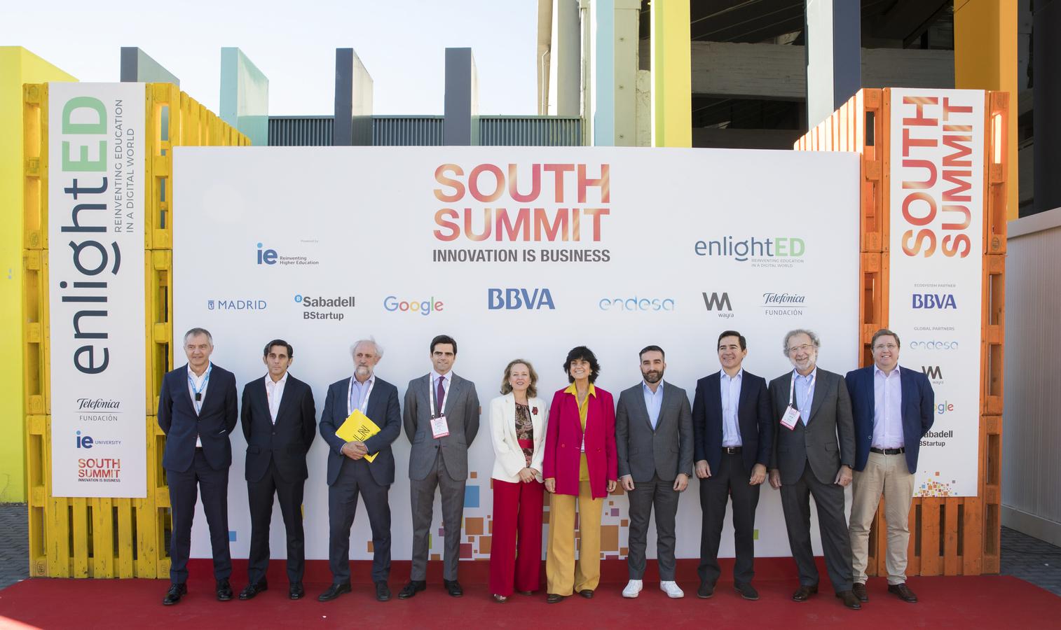 South Summit edici´pon 2018 en La Nave de Madrid