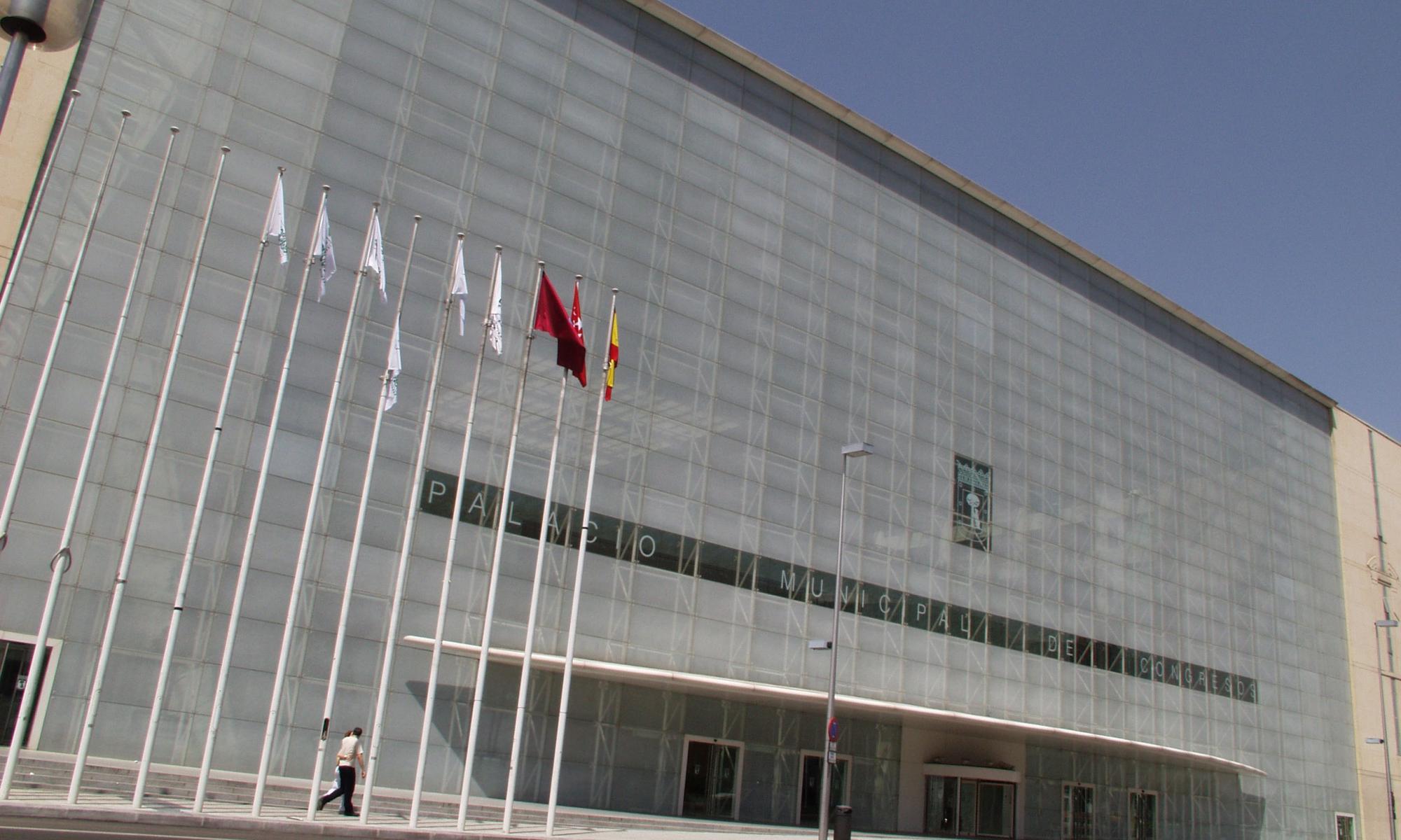 sede del Palacio Municipal de Congresos e Madrid