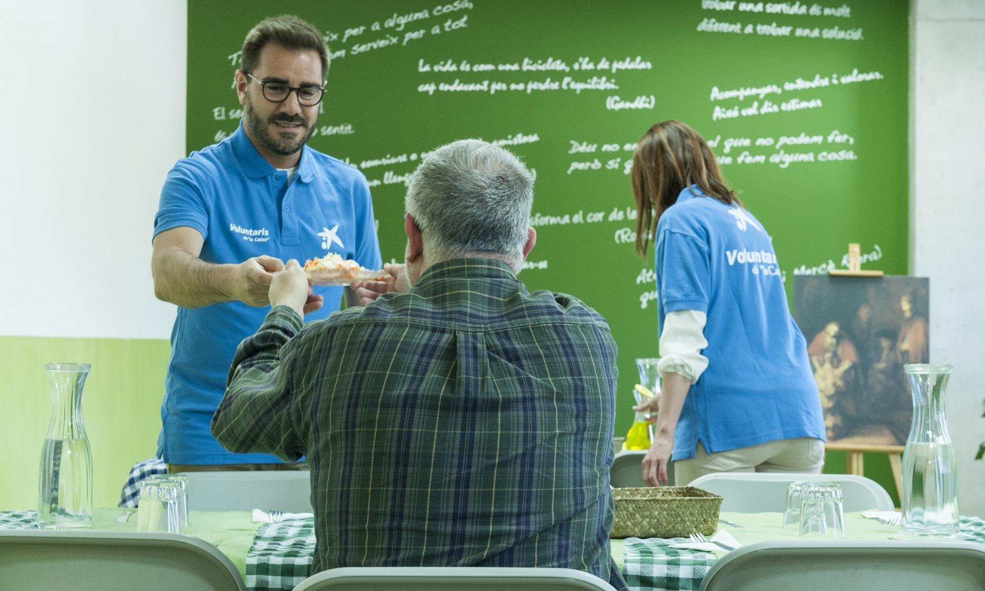 imagen de la campaña Comedores con Alma de CaixaBank