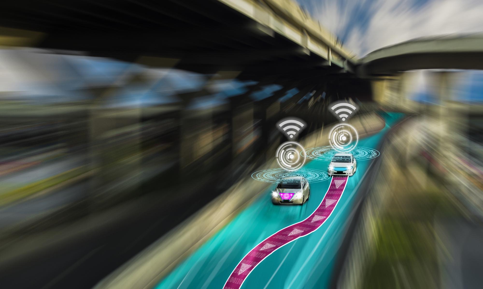 imagen de vehículos inteligentes y movilidad sostenible