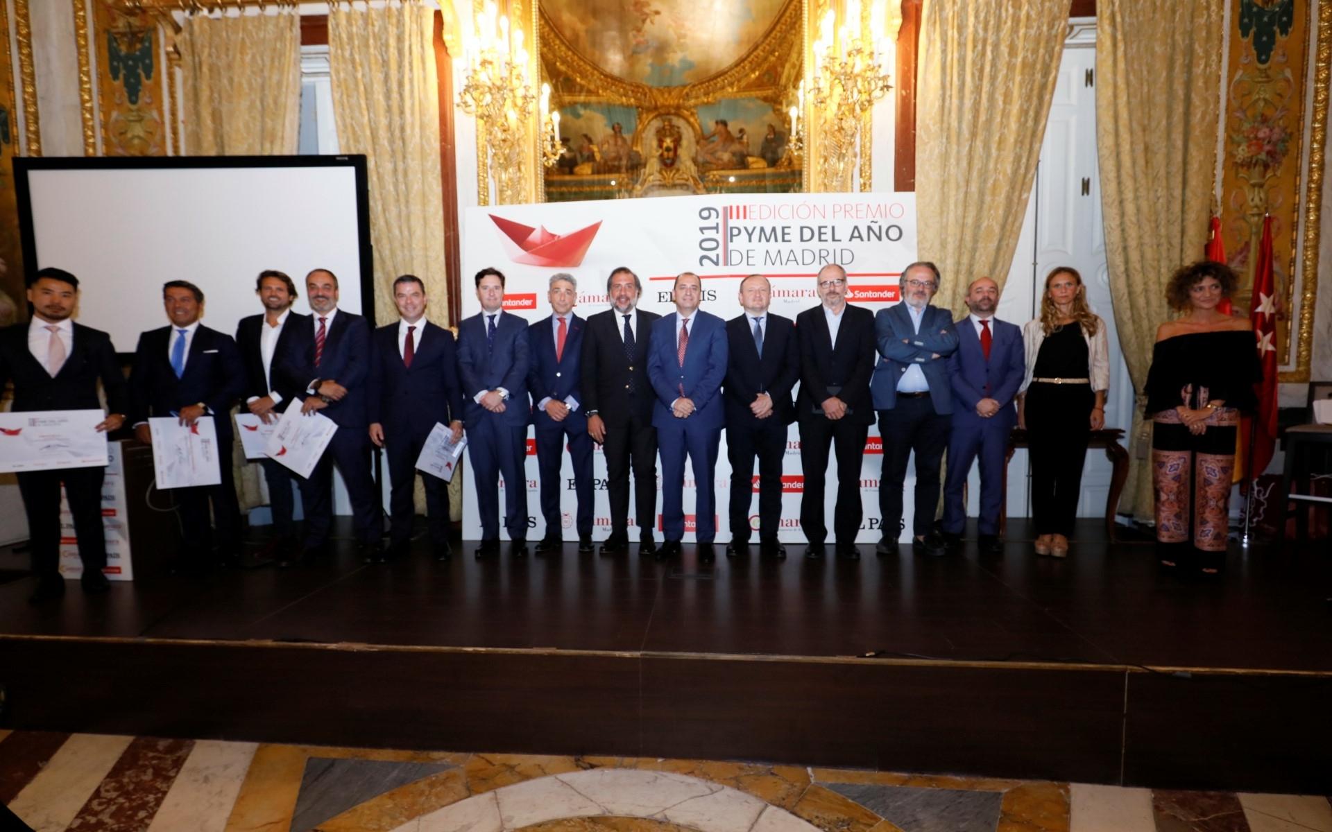premiados Cámara y Santander