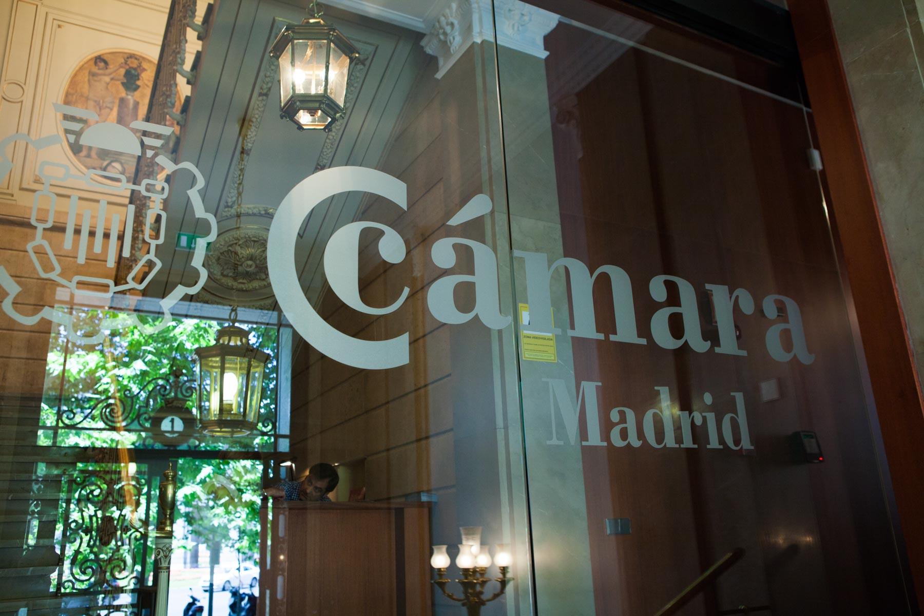 Cámara comercio Madrid