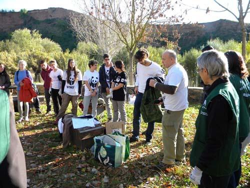 plantacion de árboles Mahou San Miguel