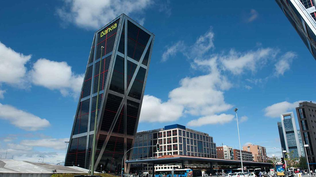 sede Bankia en Madrid