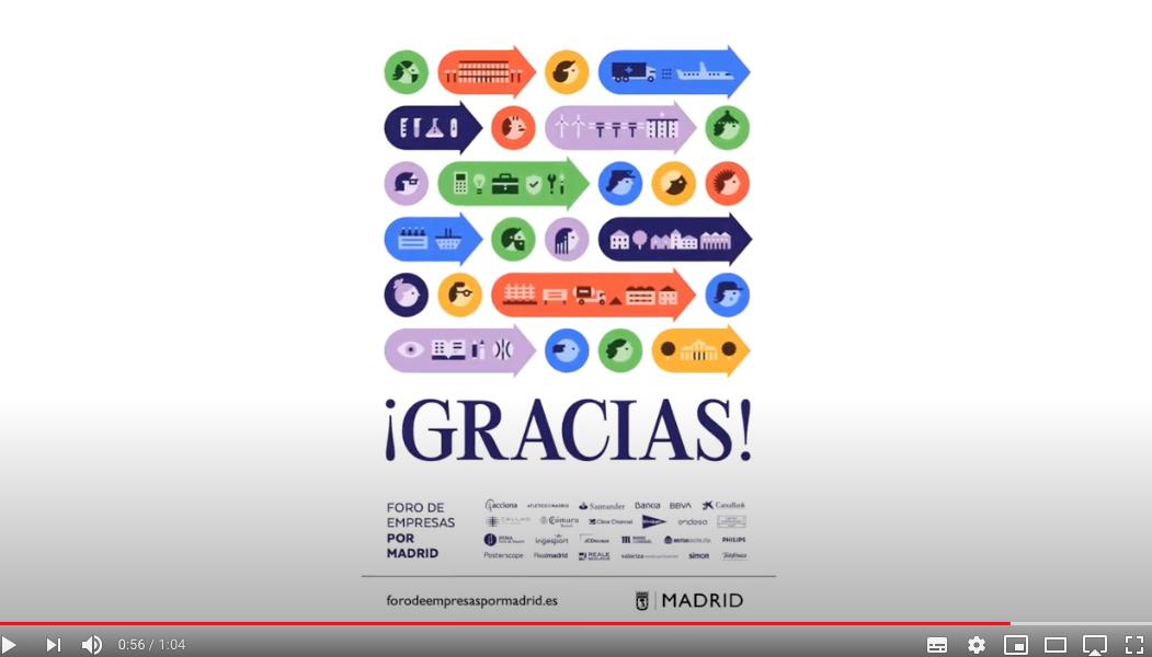 video agradecimiento