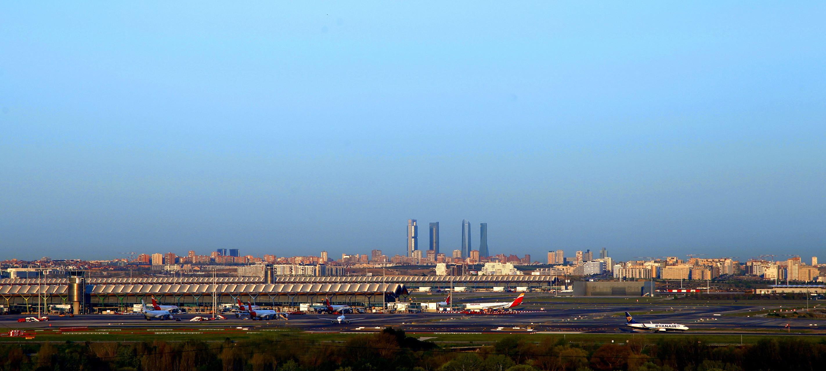 panorámica ciudad de Madrid