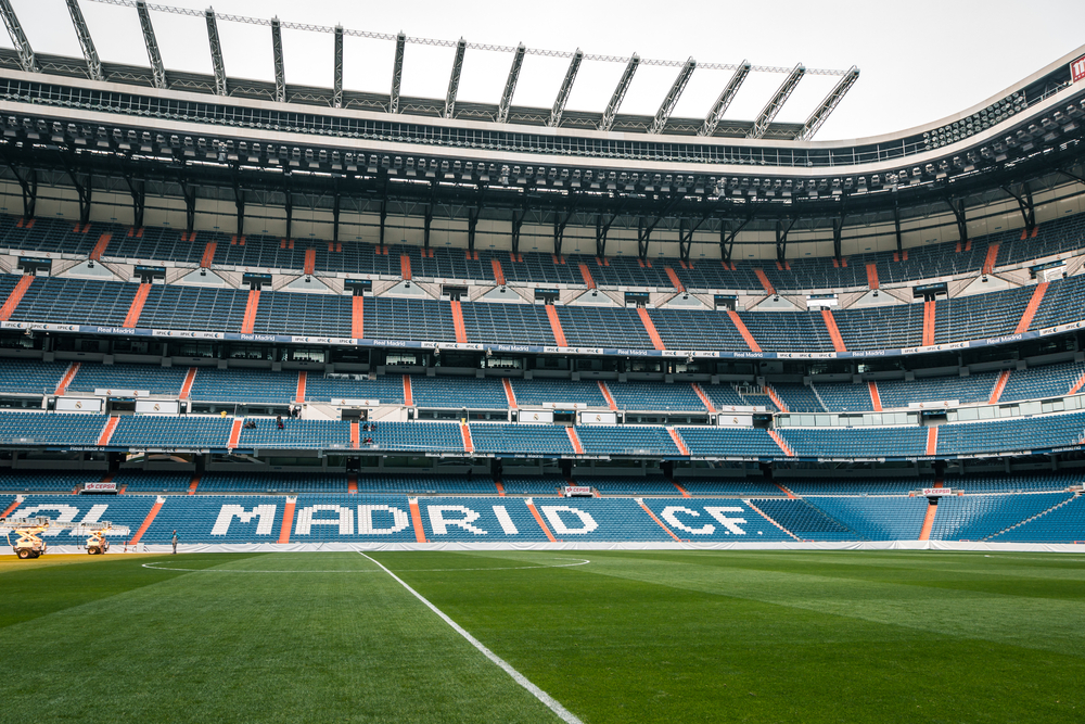 estadio Bernabéu Real Madrid