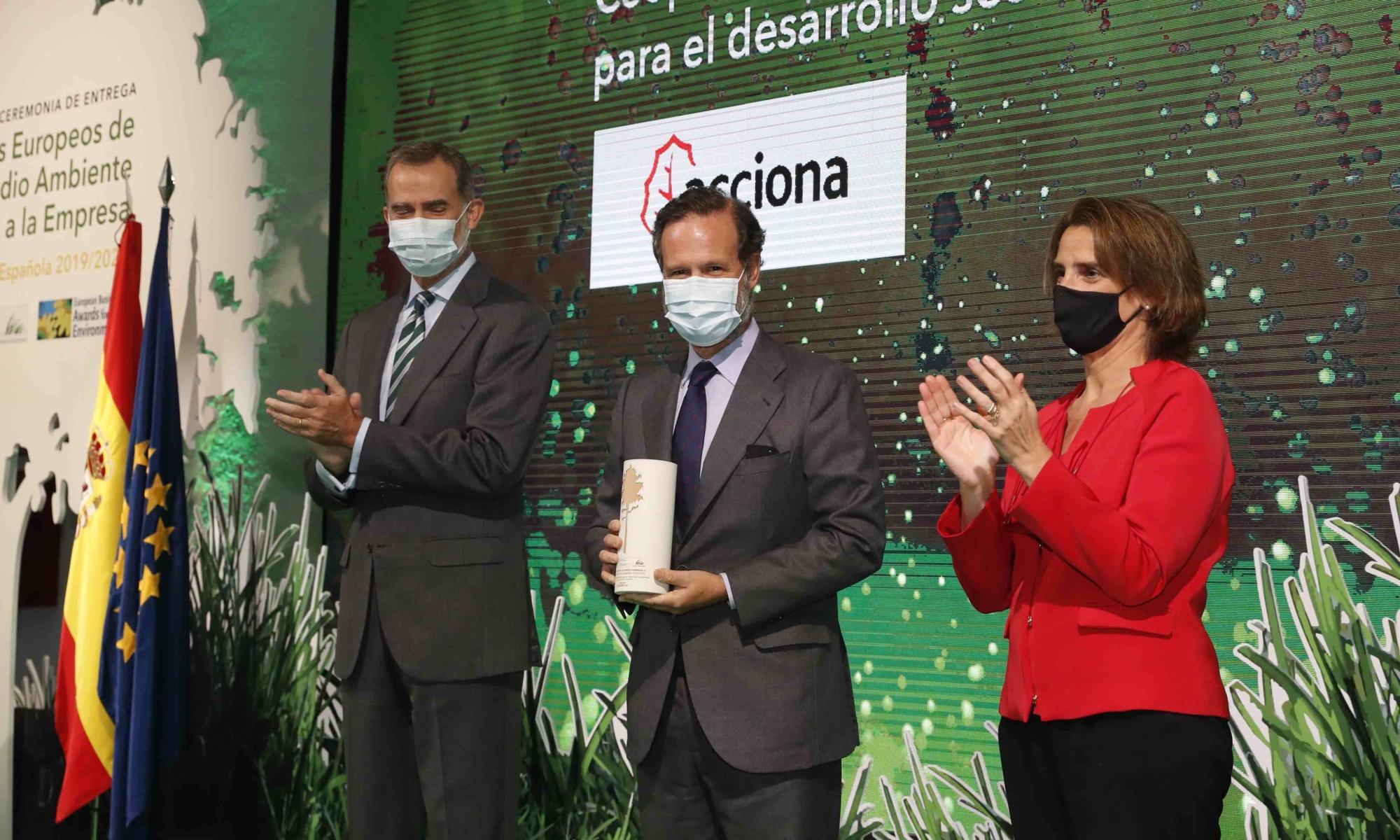 Premio medio ambiente a Acciona