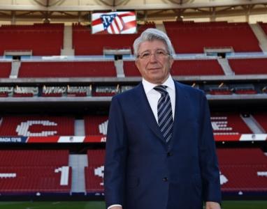 Enrique cerezo, presidente el AT. de Madrid