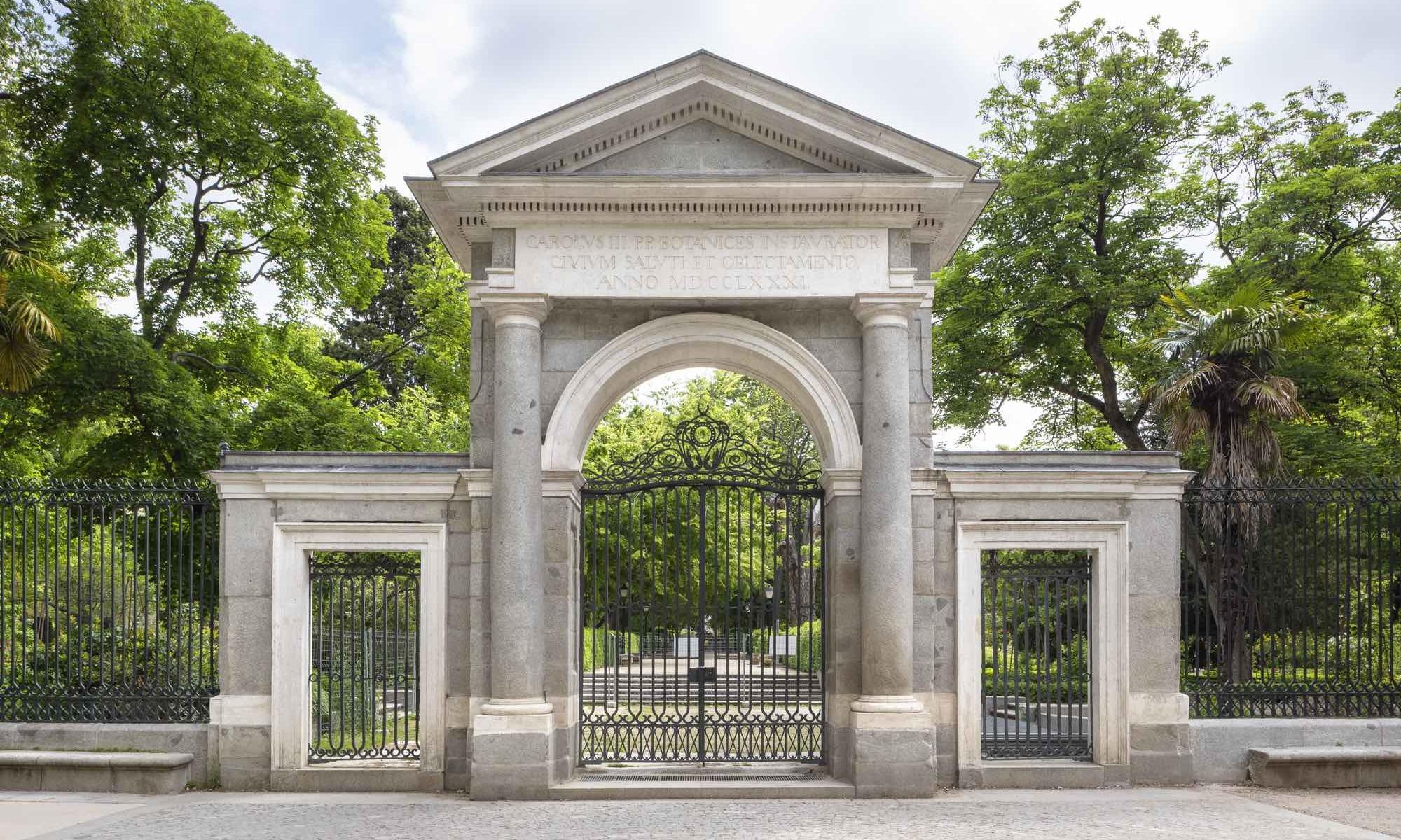 Jardín Botánico entrada